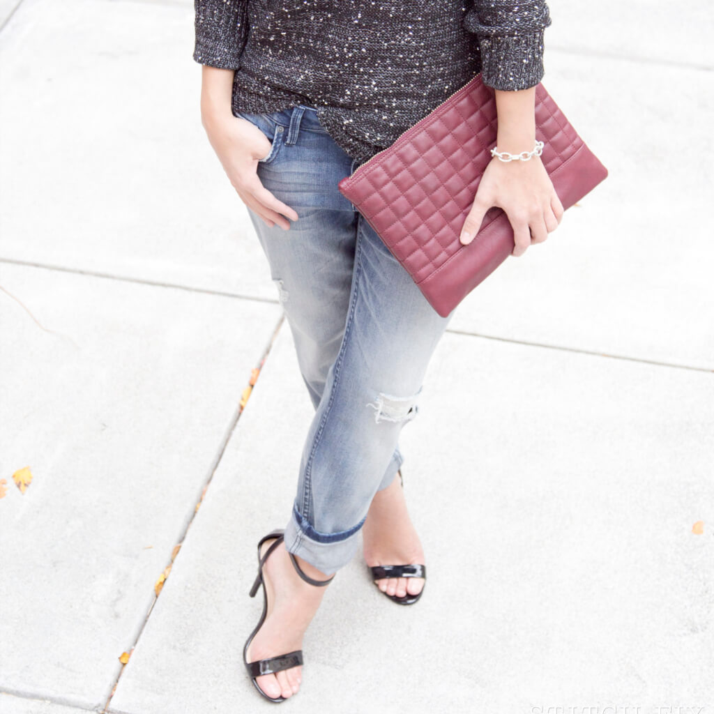 How To Dress Up Your Boyfriend Jeans
