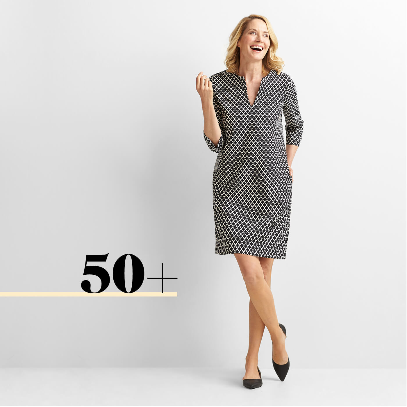 Dress style for age 50