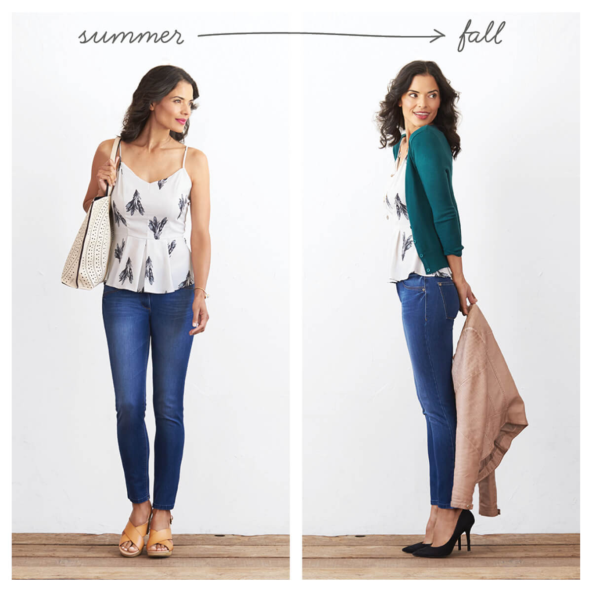 b50160e32a 5 Ways to Transition your Wardrobe from Summer to Fall