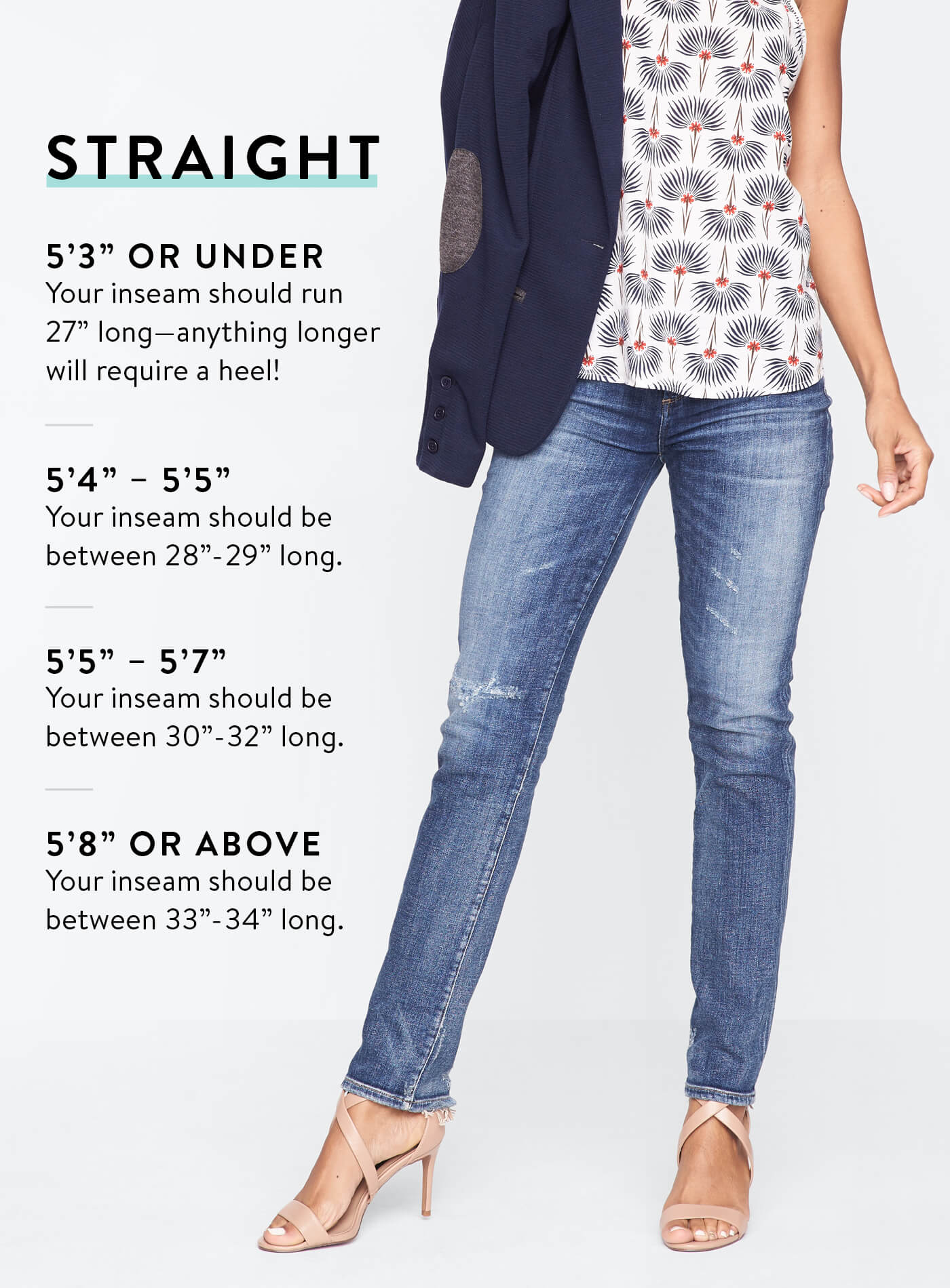 Skinny jeans 34 inch inseam