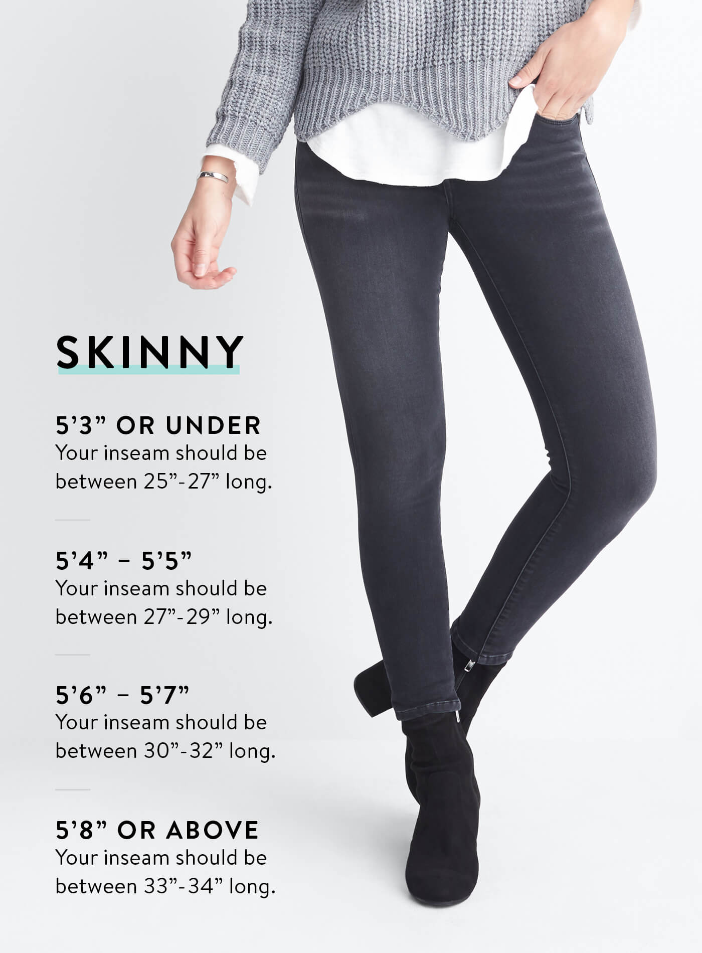 how to choose jean length