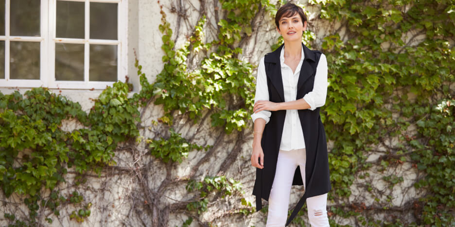 How To Wear A Long Vest: 3 Summer Looks