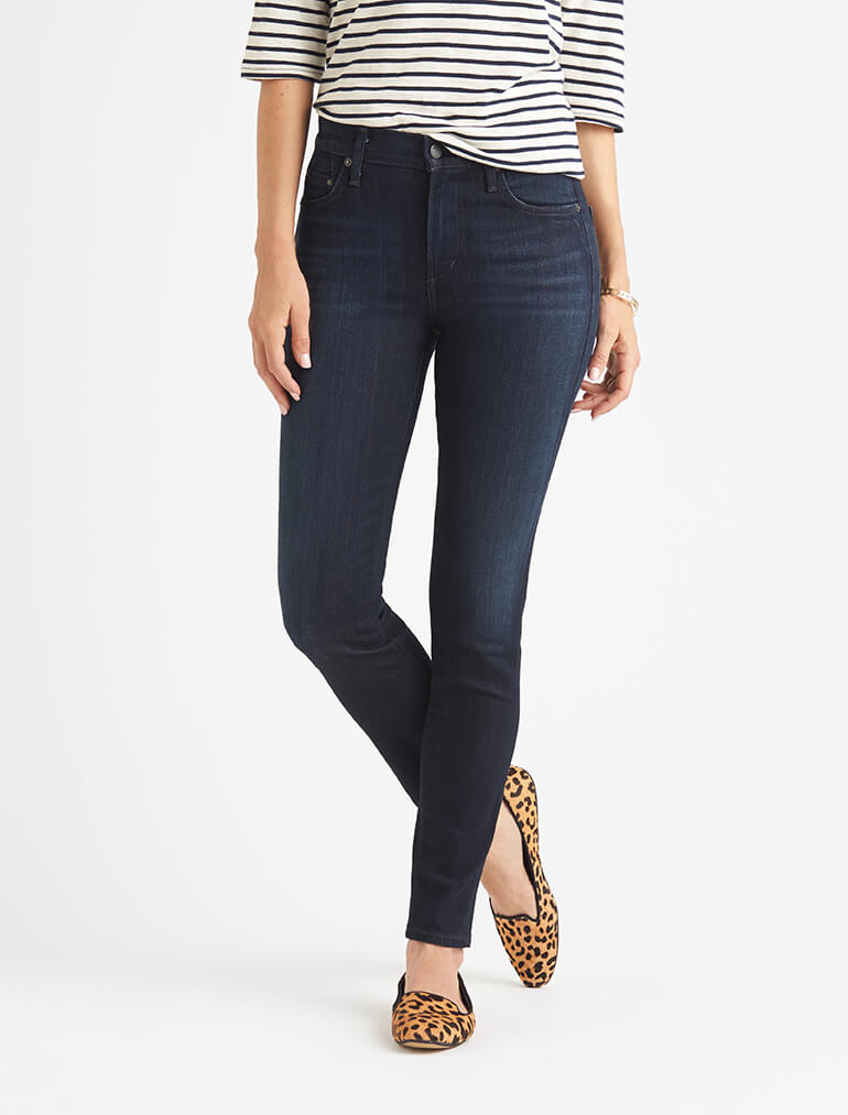 What&39s the difference between skinny &amp straight leg jeans