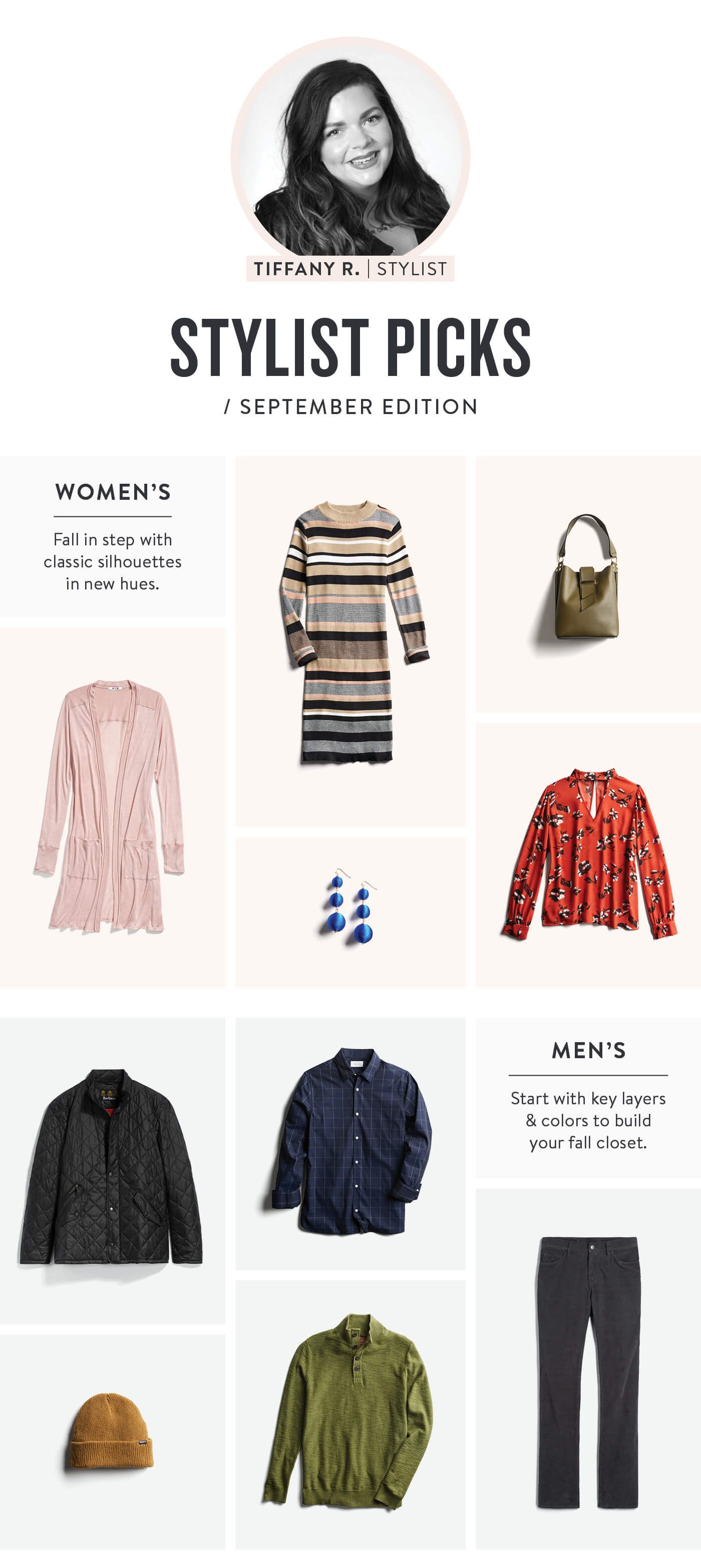 Stitch Fix September Stylist Picks