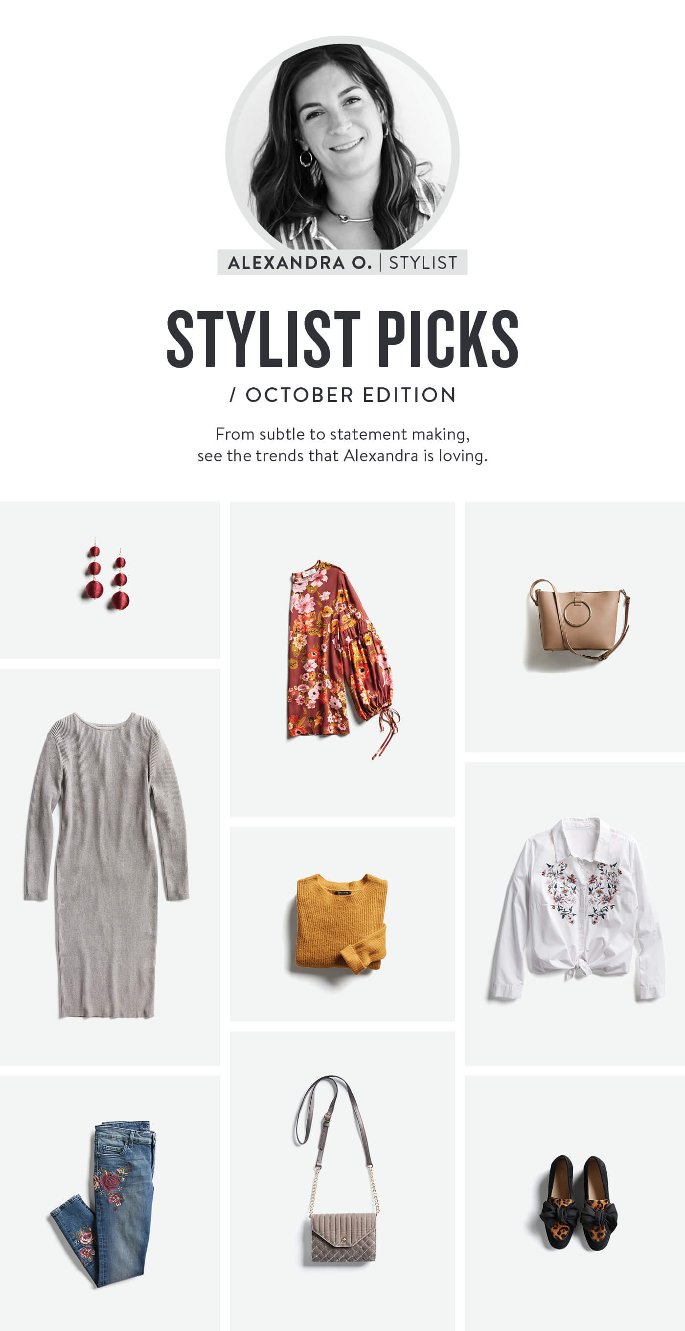 Stitch Fix October Stylist Picks