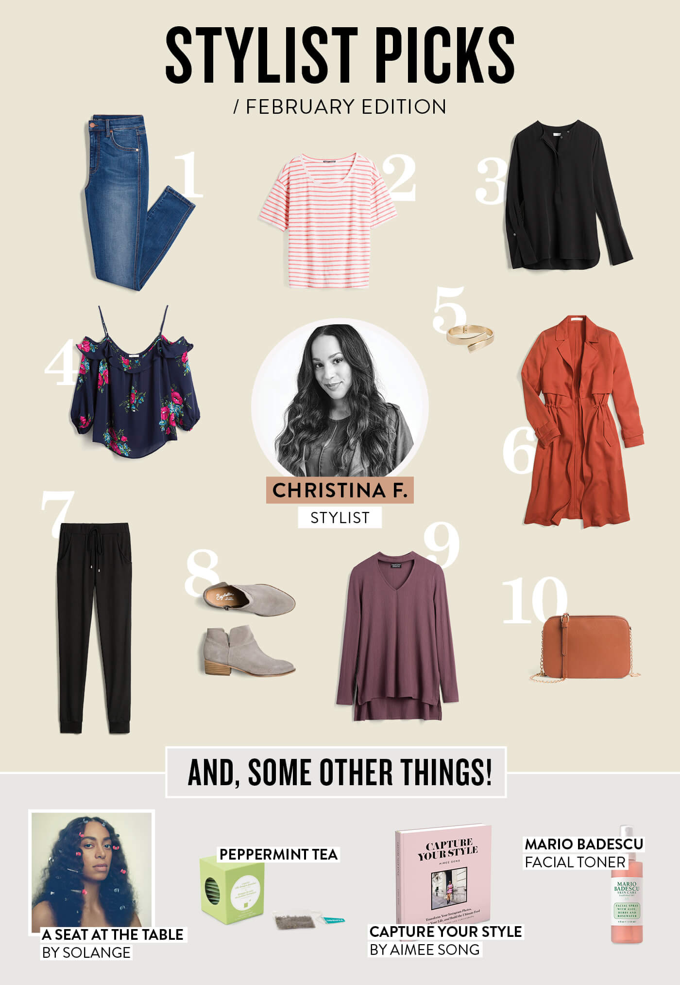 Stitch Fix Stylist February Picks
