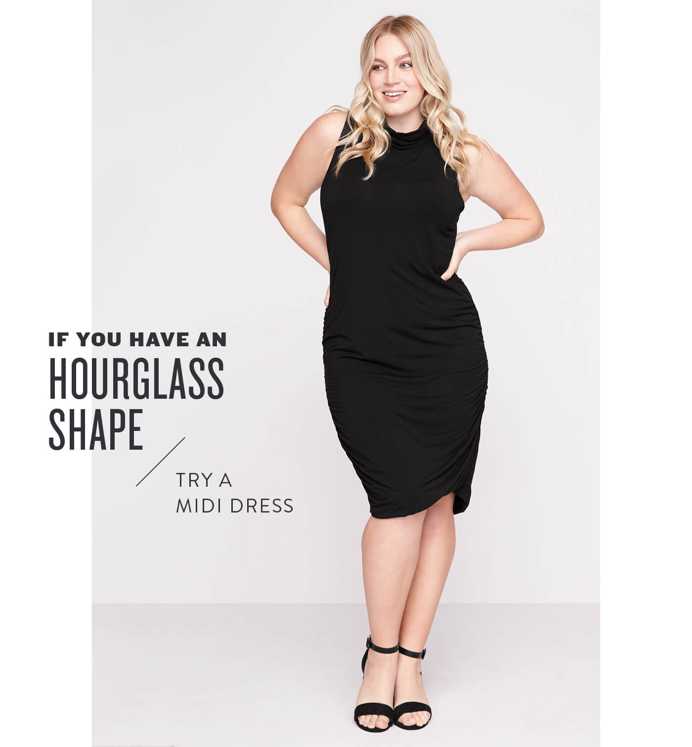 Dresses for apple shaped women - Silhouettes For Every Shape
