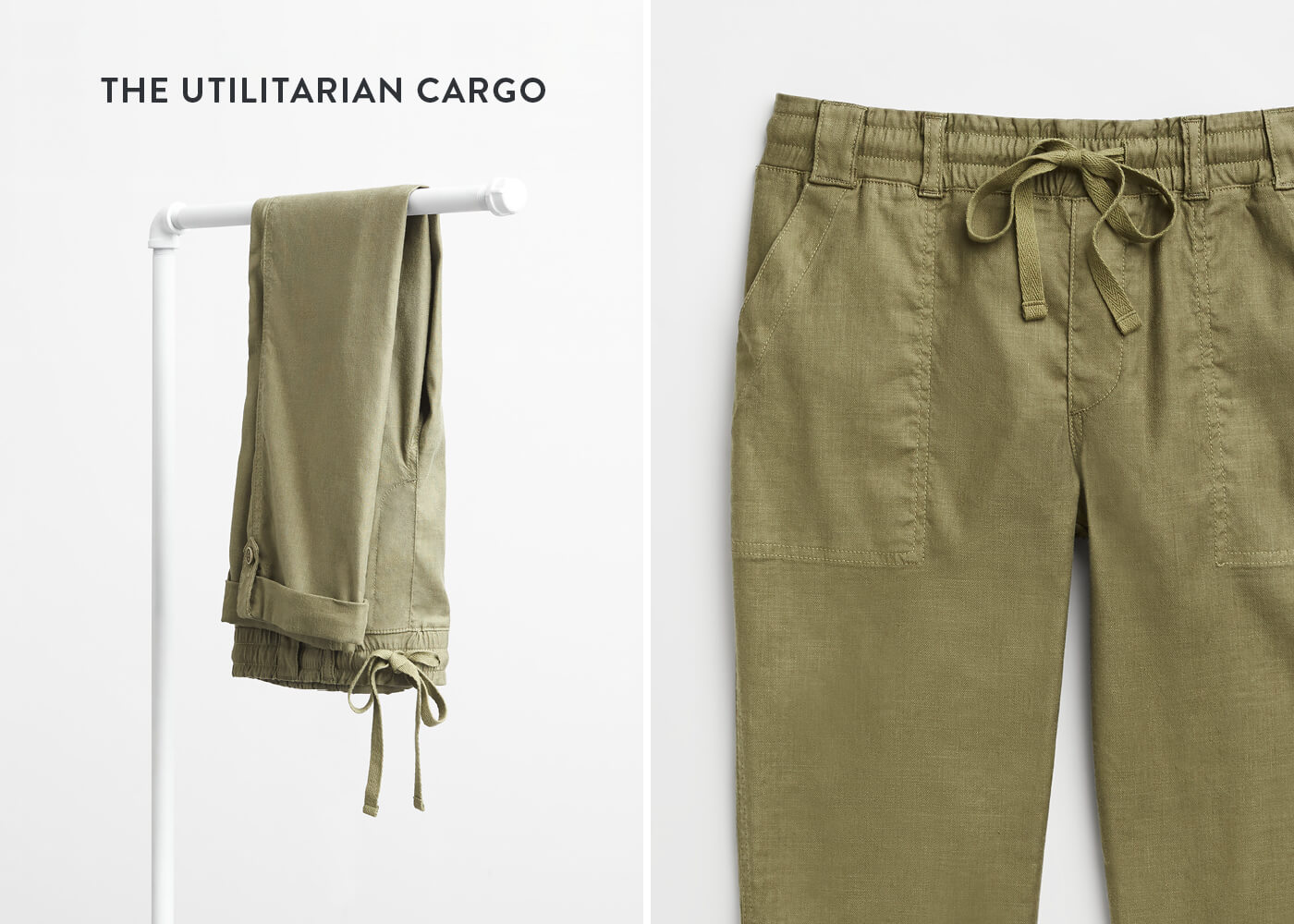 cargo olive green pant