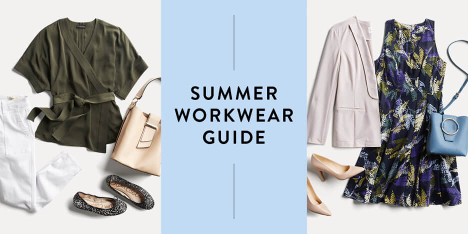 e06929a8b478 We ve rounded up a few key pieces for your summer work wardrobe so you can  be cool