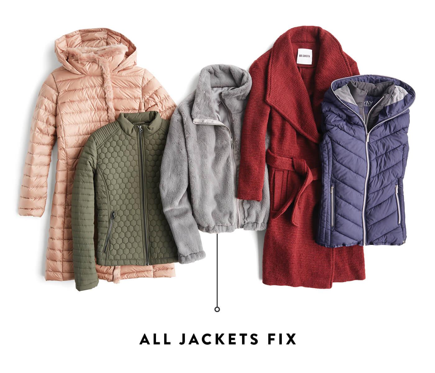 all jackets fix