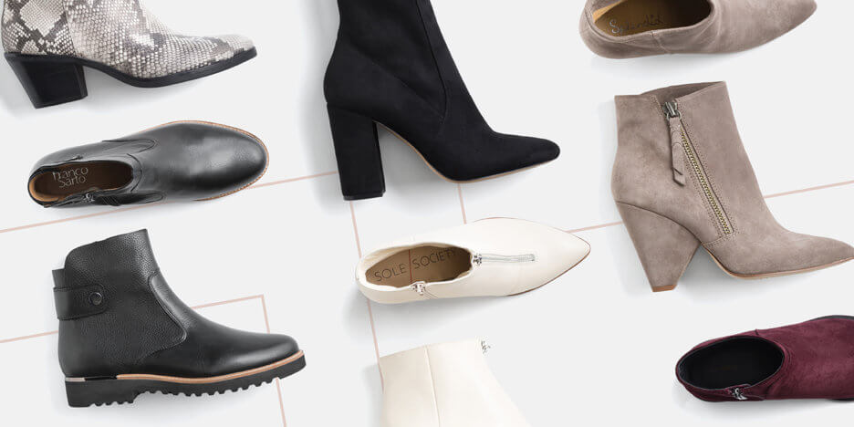 58758547120708 From exploring the great outdoors to dashing off to work, we've got the  right ankle booties to help you pull your look together.