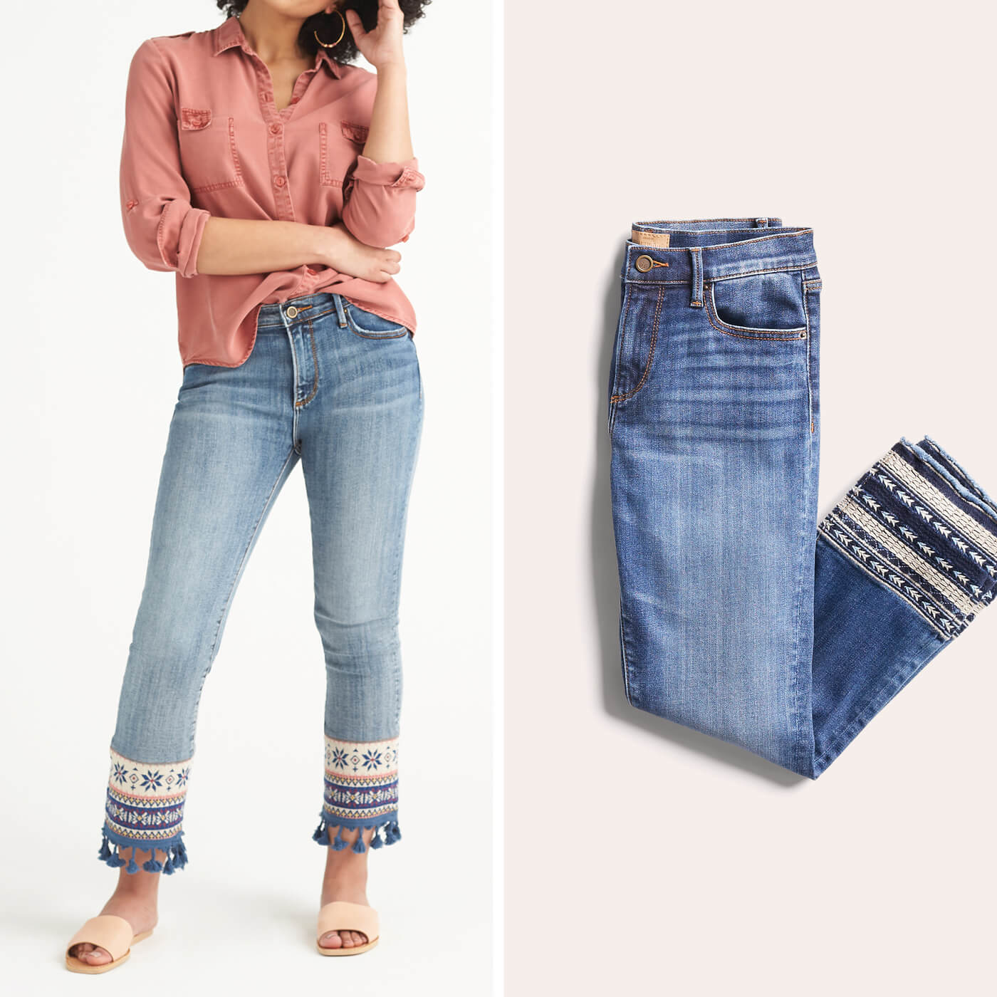 The Petite Girl's Guide to Denim