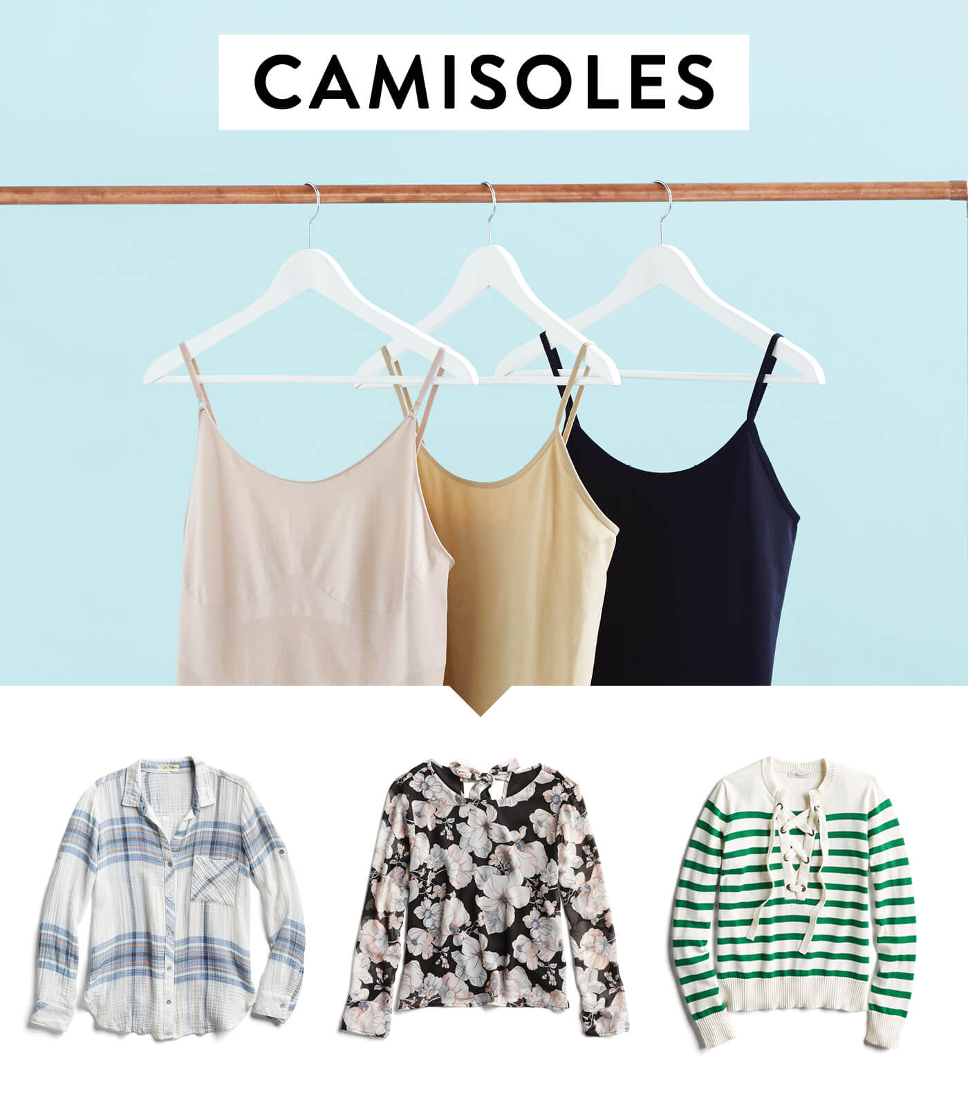 How to Wear Camisole