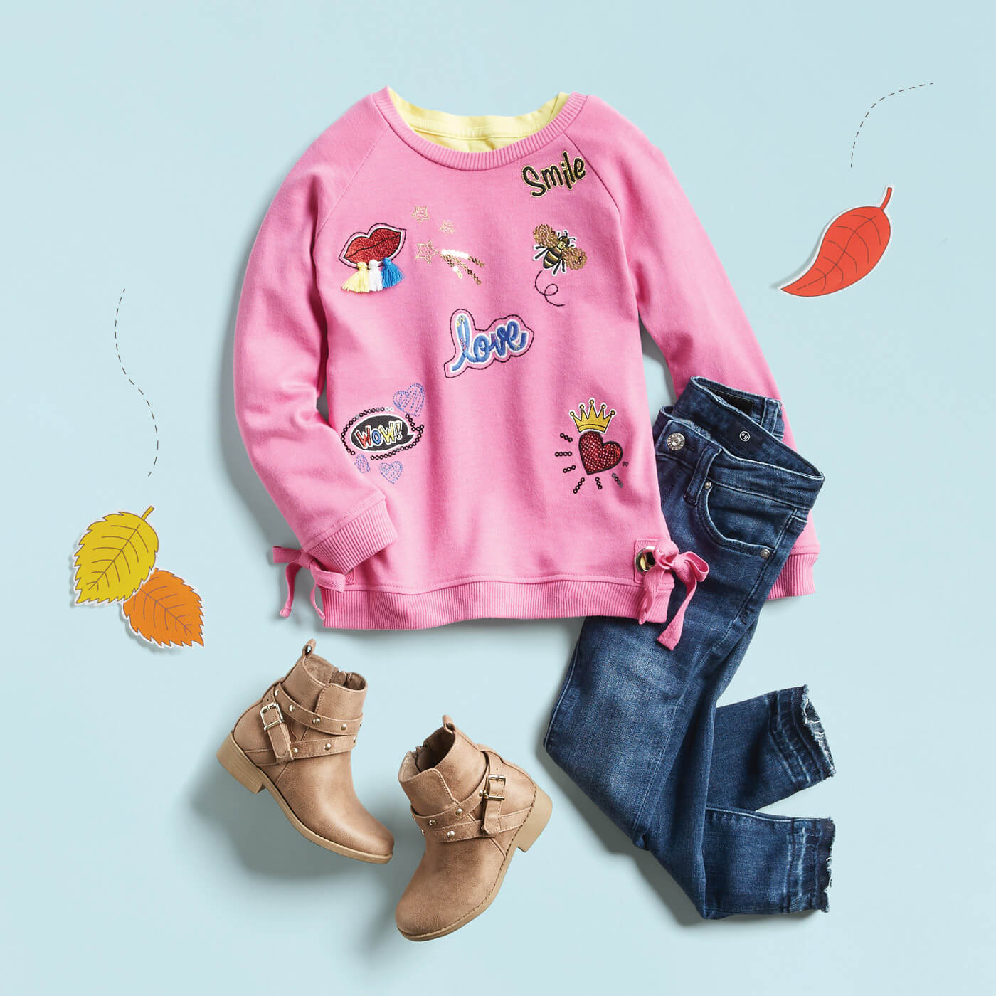 easy outfit for kids