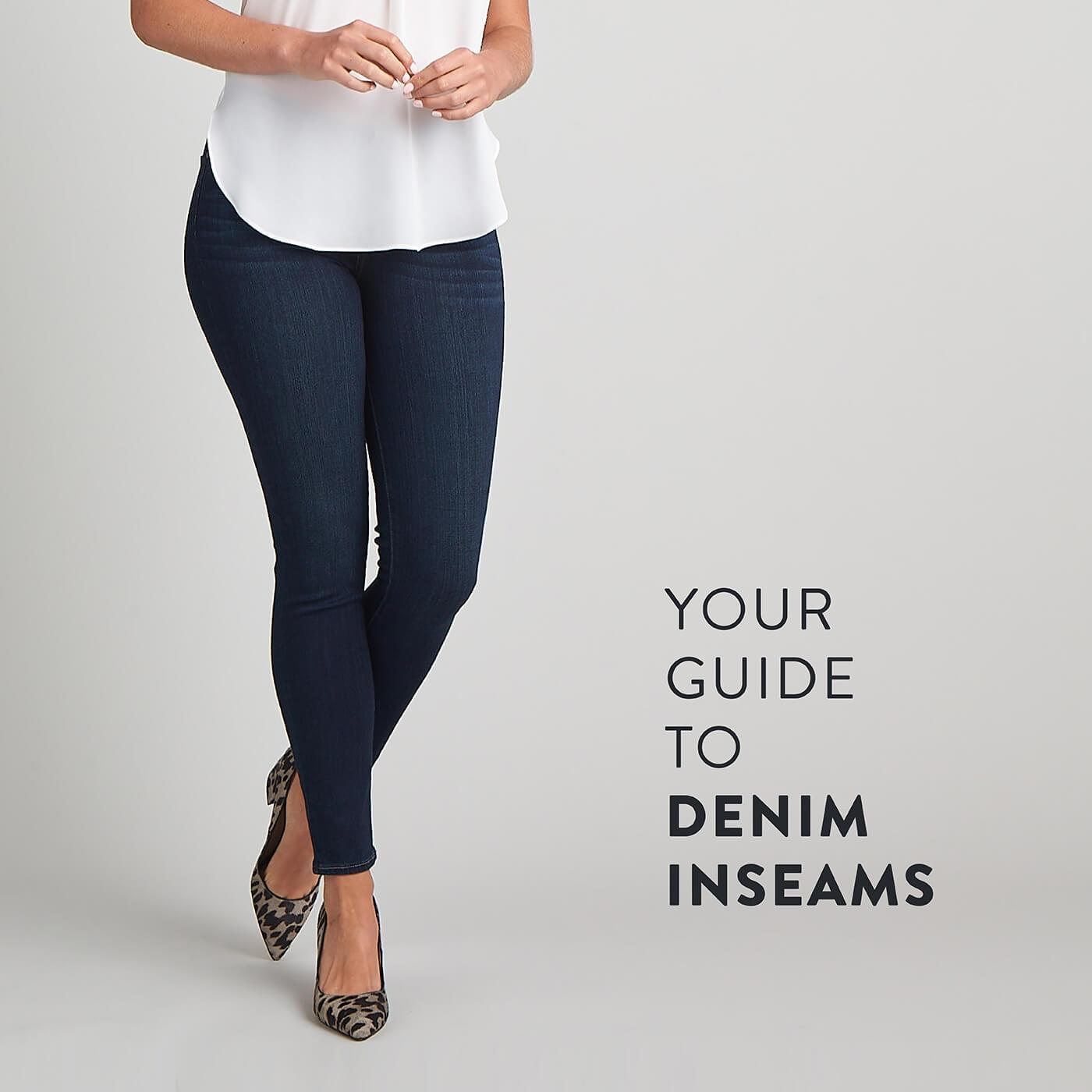 Guide To Denim Inseams For Women Stitch Fix Style