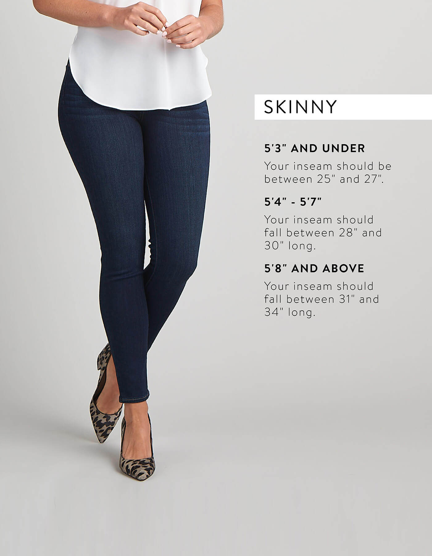 Tall Women Sizing: Understanding the Inseam