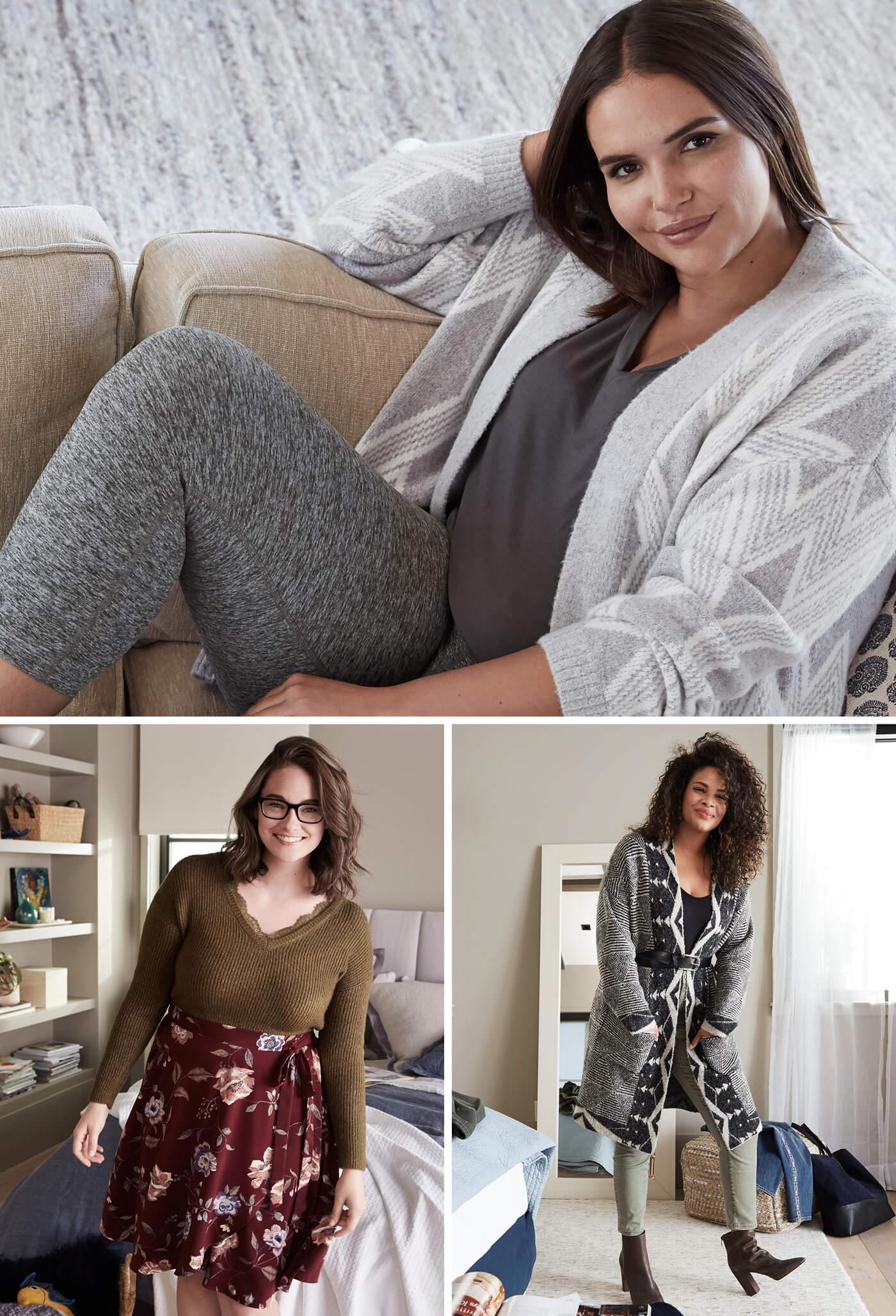 wardrobe essentials for plus women