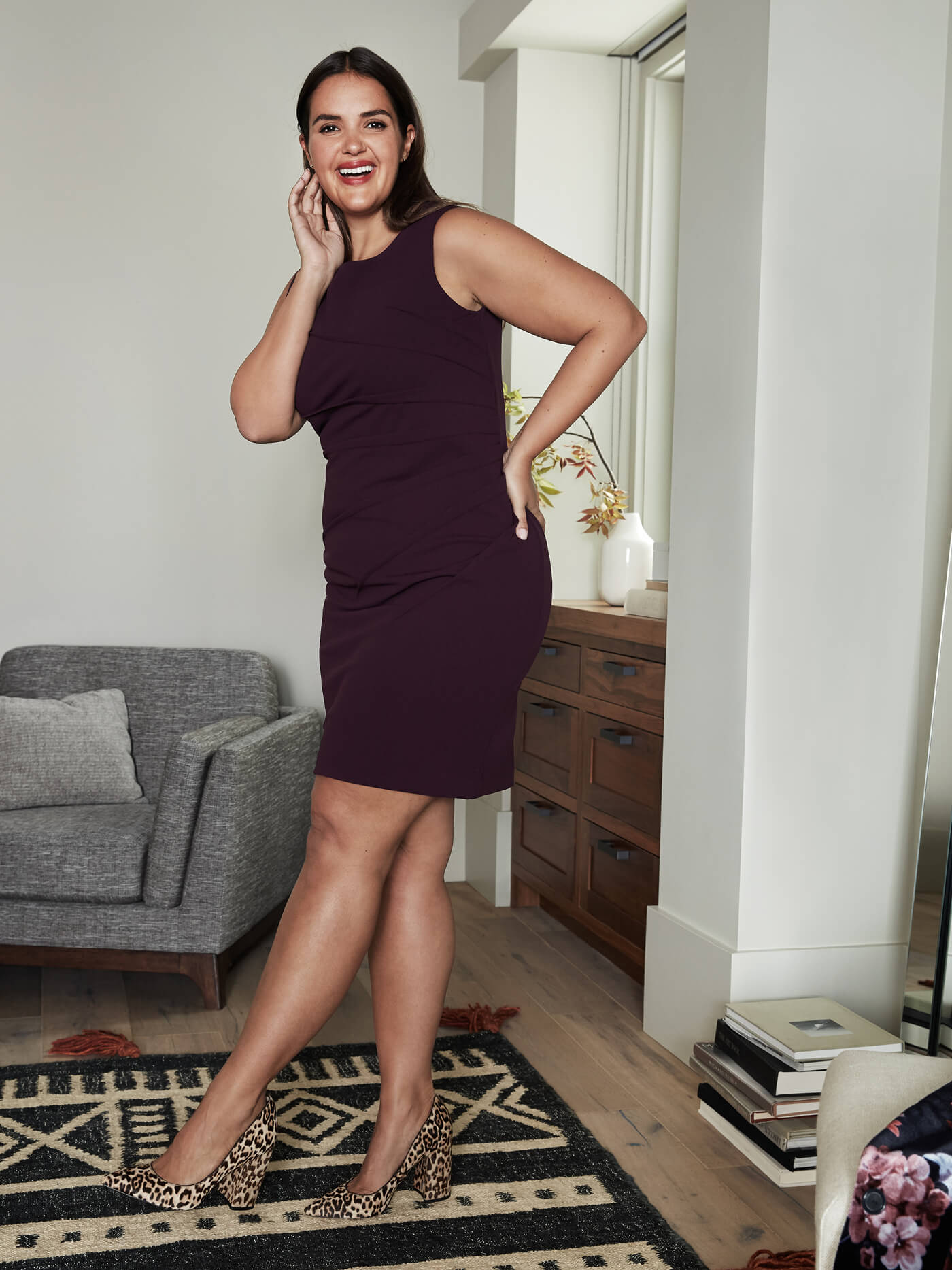 shift dress for plus size