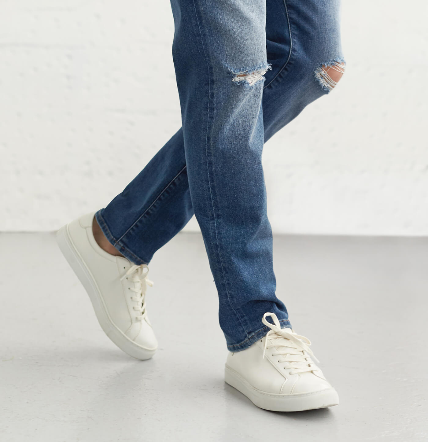 Pair shoes with jeans