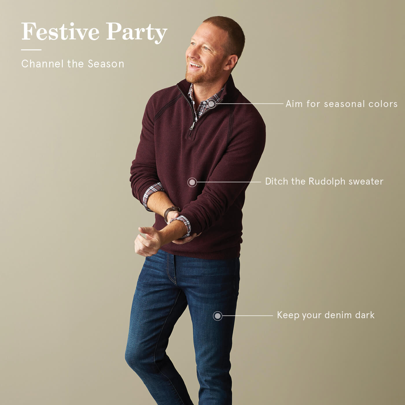 Holiday cocktail dress code