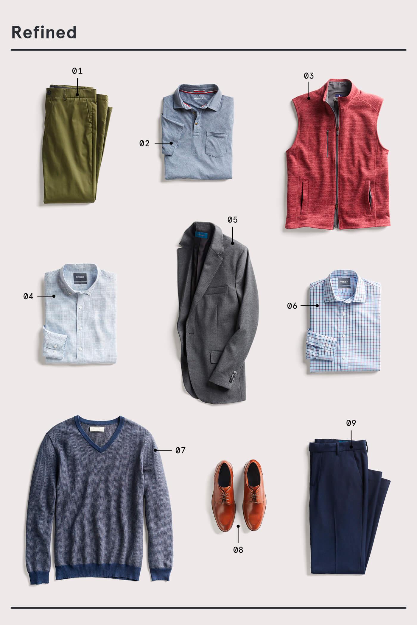 men's refined style essentials