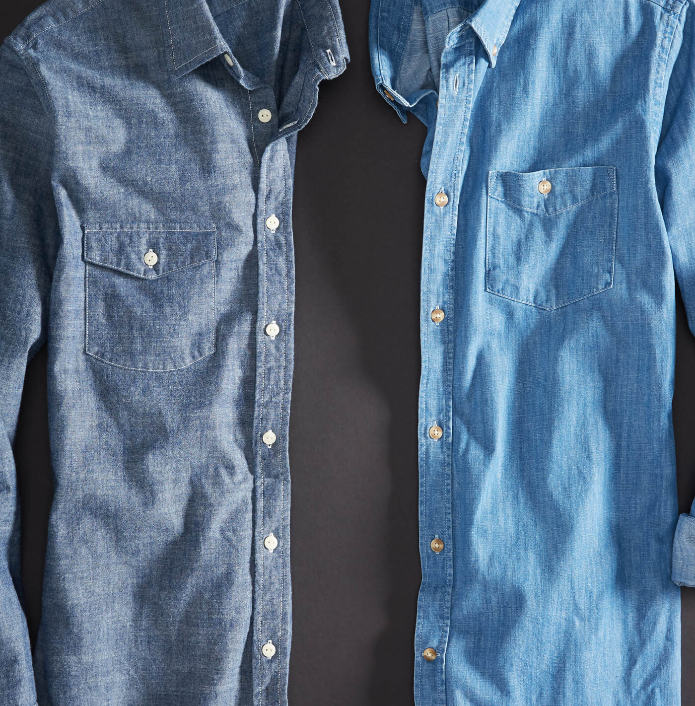 The Difference Between Chambray Denim Stitch Fix Men