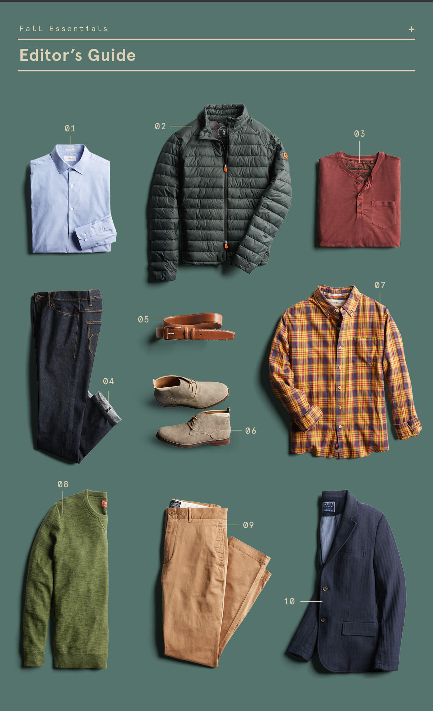 10 Men's Fall Style Essentials