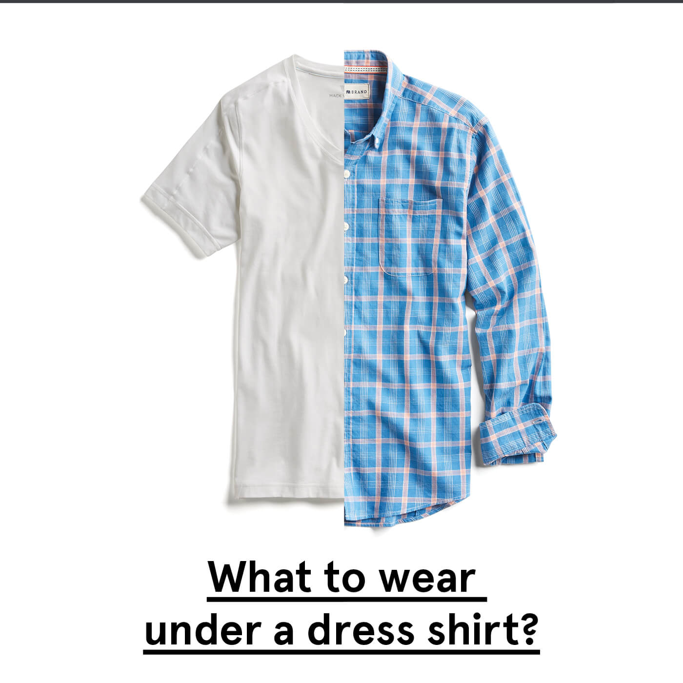 to wear - Wear to what under thin dress shirt video