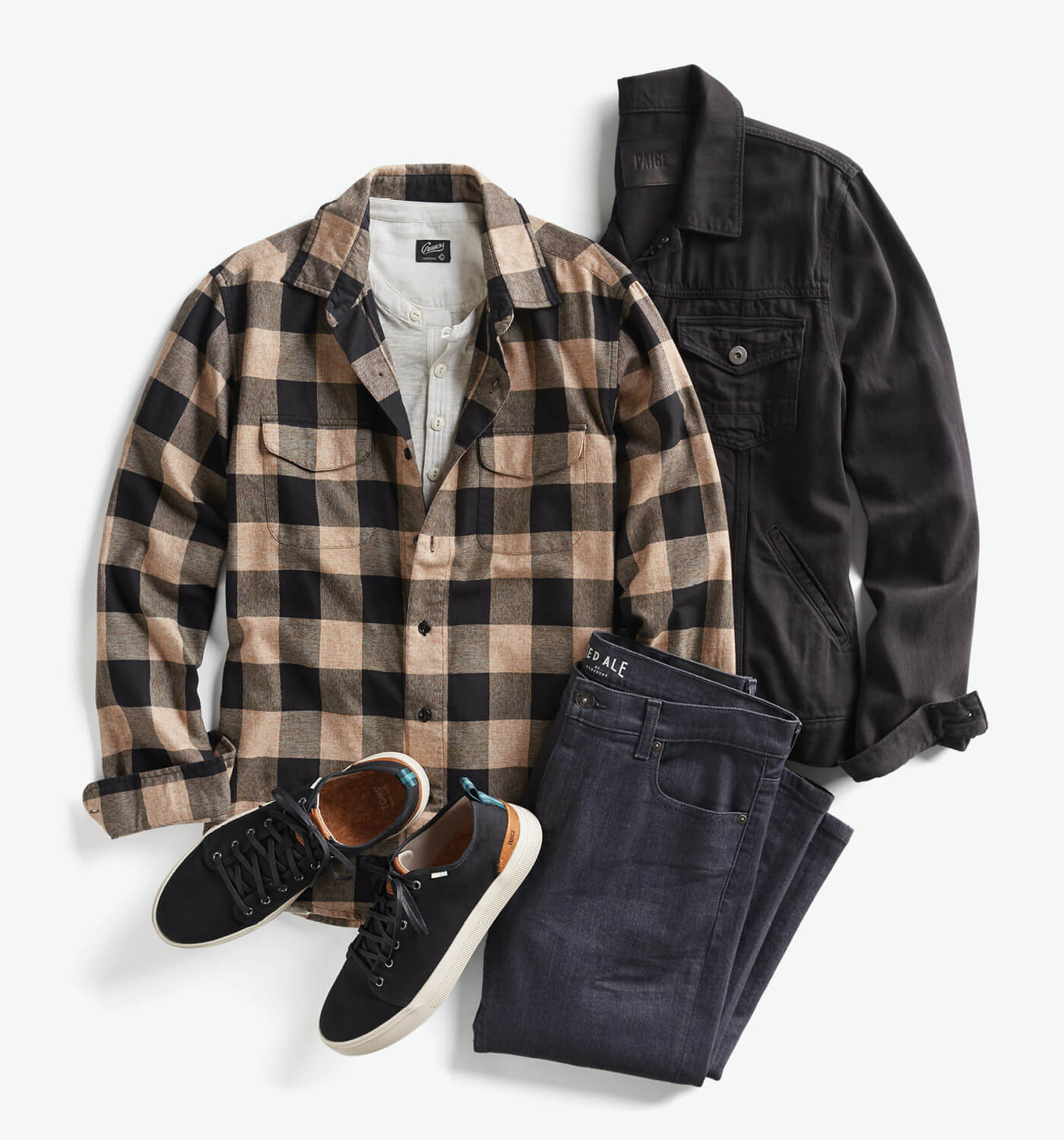 how to wear flannel