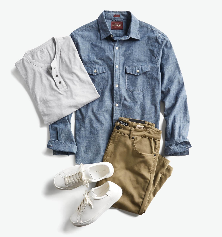 smart casual attire for men