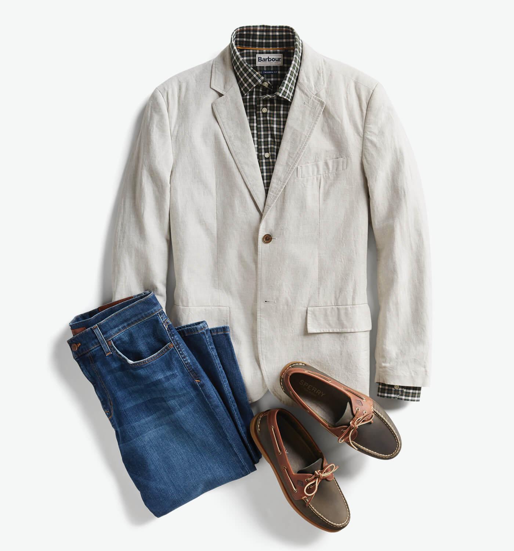 men's smart casual attire