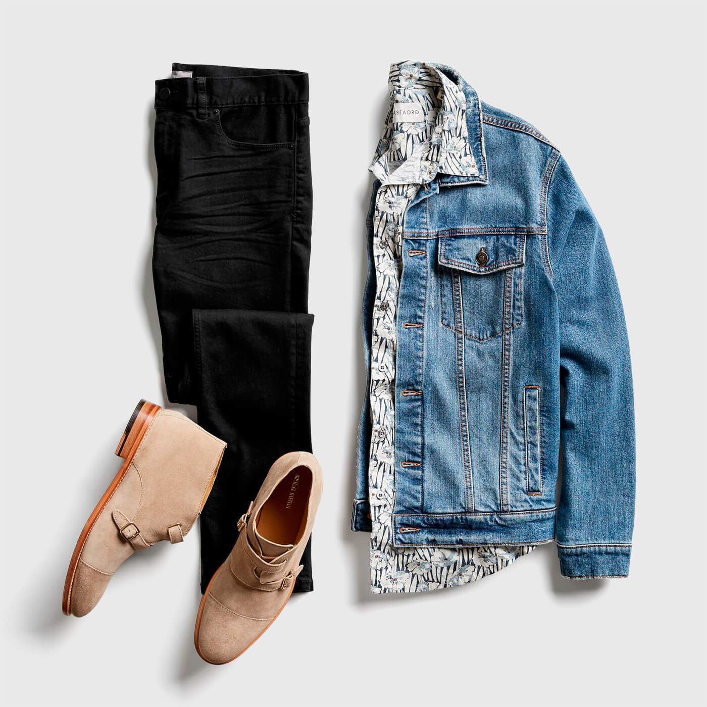 814e423a7 What do I wear with a jean jacket?   Stitch Fix Men