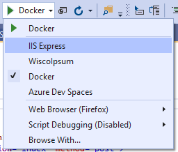 Choose Docker