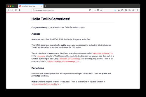 Using Twilio Functions with TypeScript - Twilio