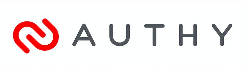 Authy Logo – white background