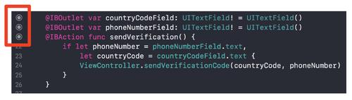 xcode ibaction