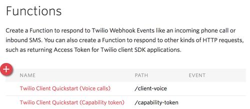 Twilio Client Javascript Quickstart - Twilio