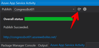 Visual Studio - Azure 発行