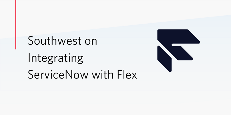 ServiceNow Flex Integration