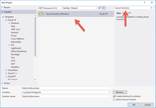 How to Send Daily SMS Reminders Using C#, Azure Functions
