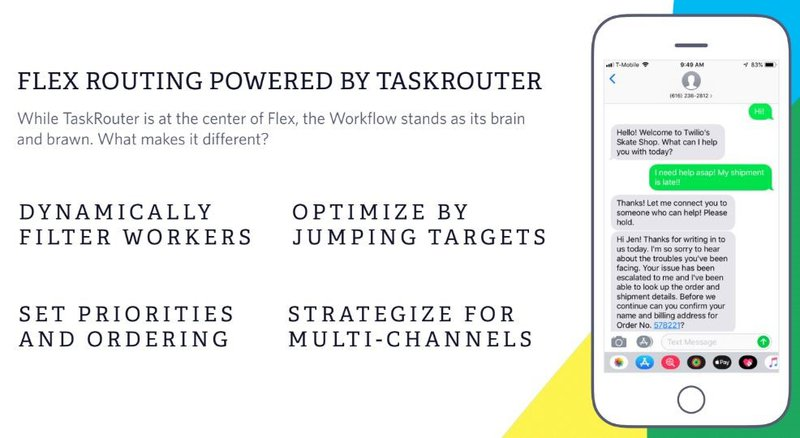 While TaskRouter is at the center of Twilio Flex, the Workflow is the brain.