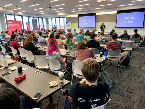 Code of Conduct presentation at HackOut