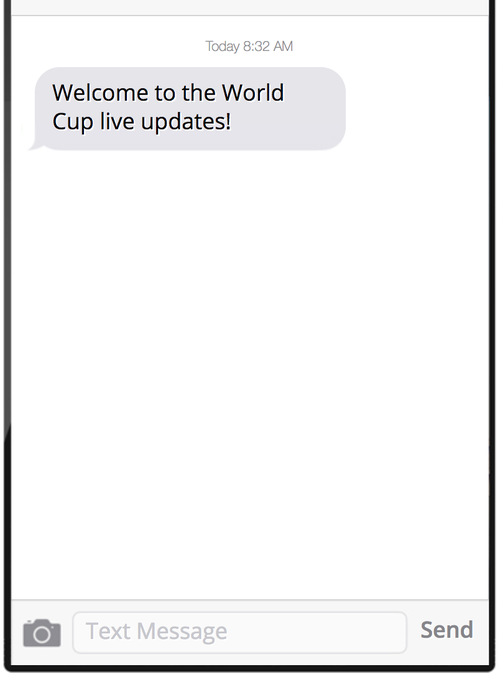 Building a World Cup Bot with Python, Twilio SMS and Slack - Twilio