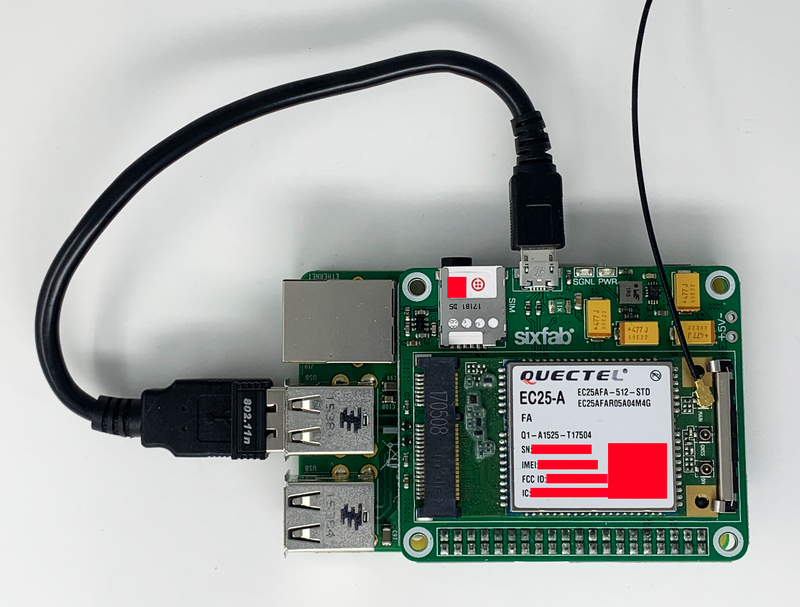 Raspberry Pi SixFab IoT Gateway Quickstart - Twilio