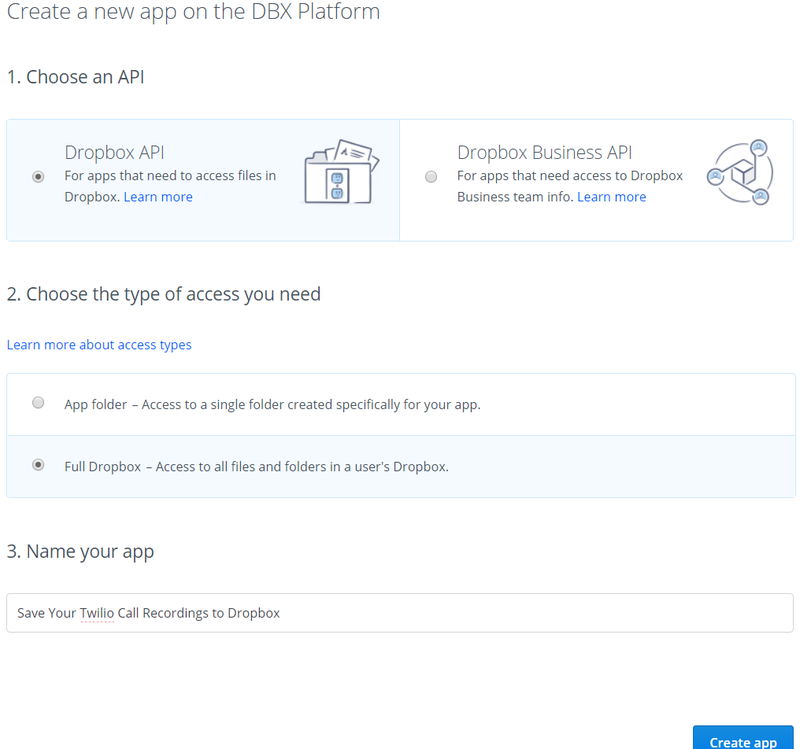 Dropbox new app guide