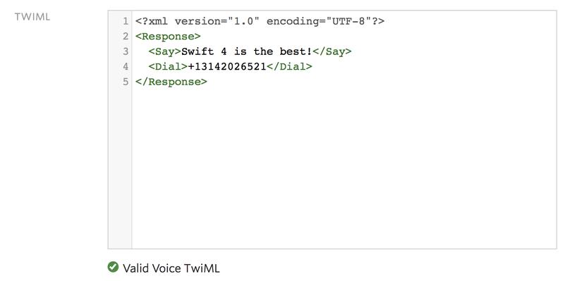 Making phone calls in Swift with Twilio - Twilio