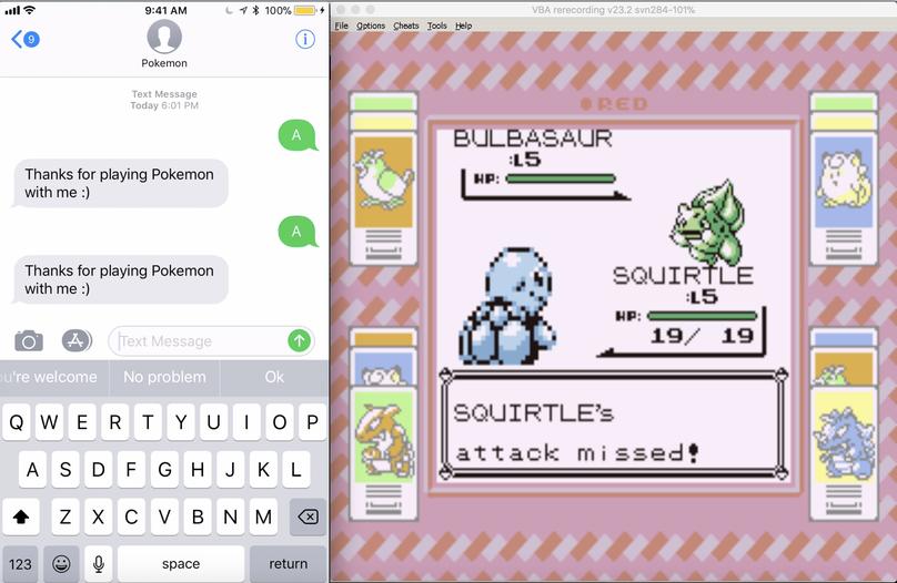 Playing Pokemon via SMS in Swift Using Vapor and Twilio - Twilio