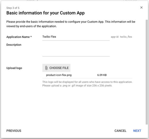 Google SAML App - 3