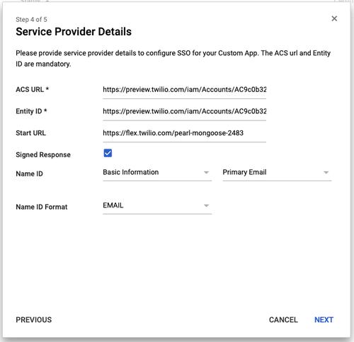 Google SAML App - 4