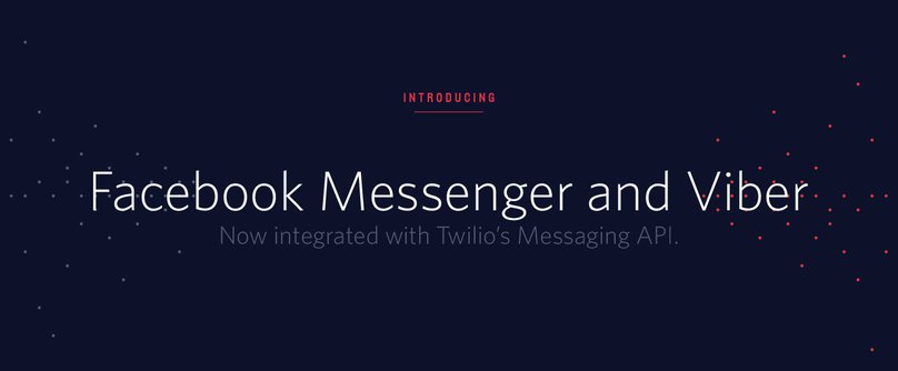 Use Twilio to Communicate Through Facebook Messenger and